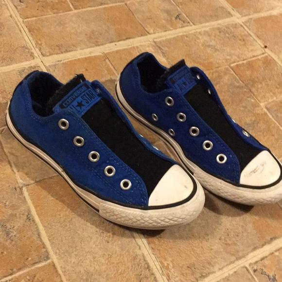 3137150a58a0 Converse boys sneakers size kids 13